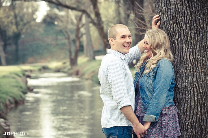 maryville greenway engagement pictures