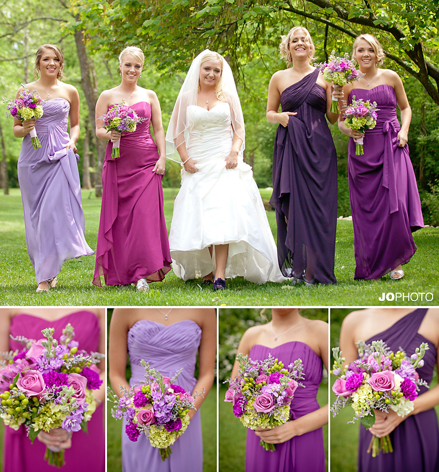 Smithview pavilion weddings maryville photography jophoto for Purple wedding dresses for bridesmaids