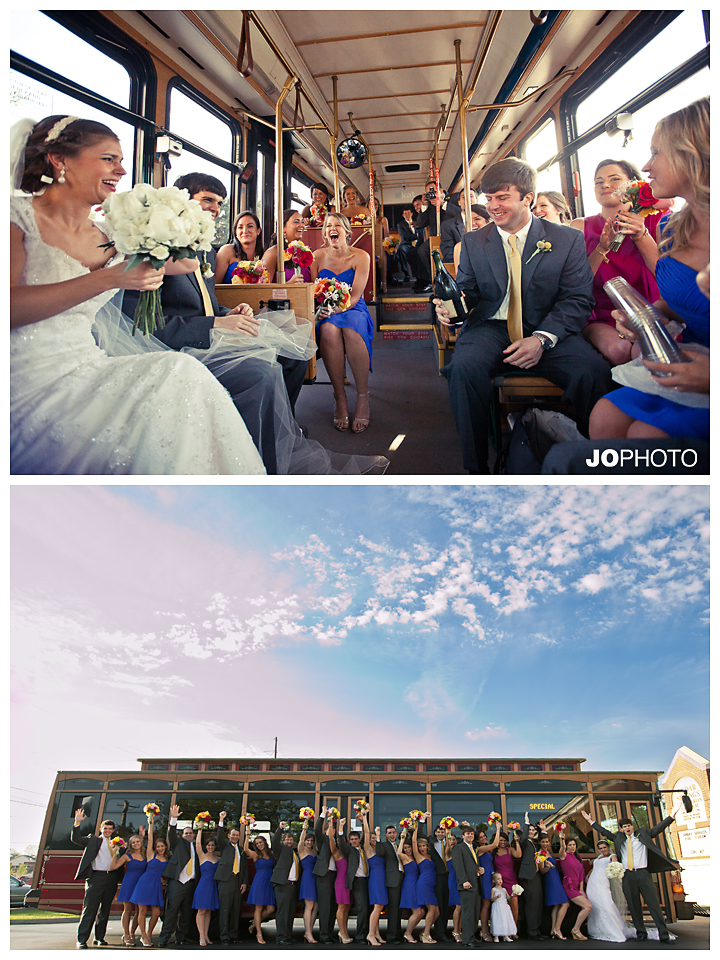 knoxville-wedding-trolley