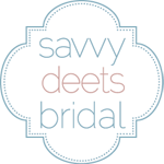 Also featured on Savvy Deets Bridal