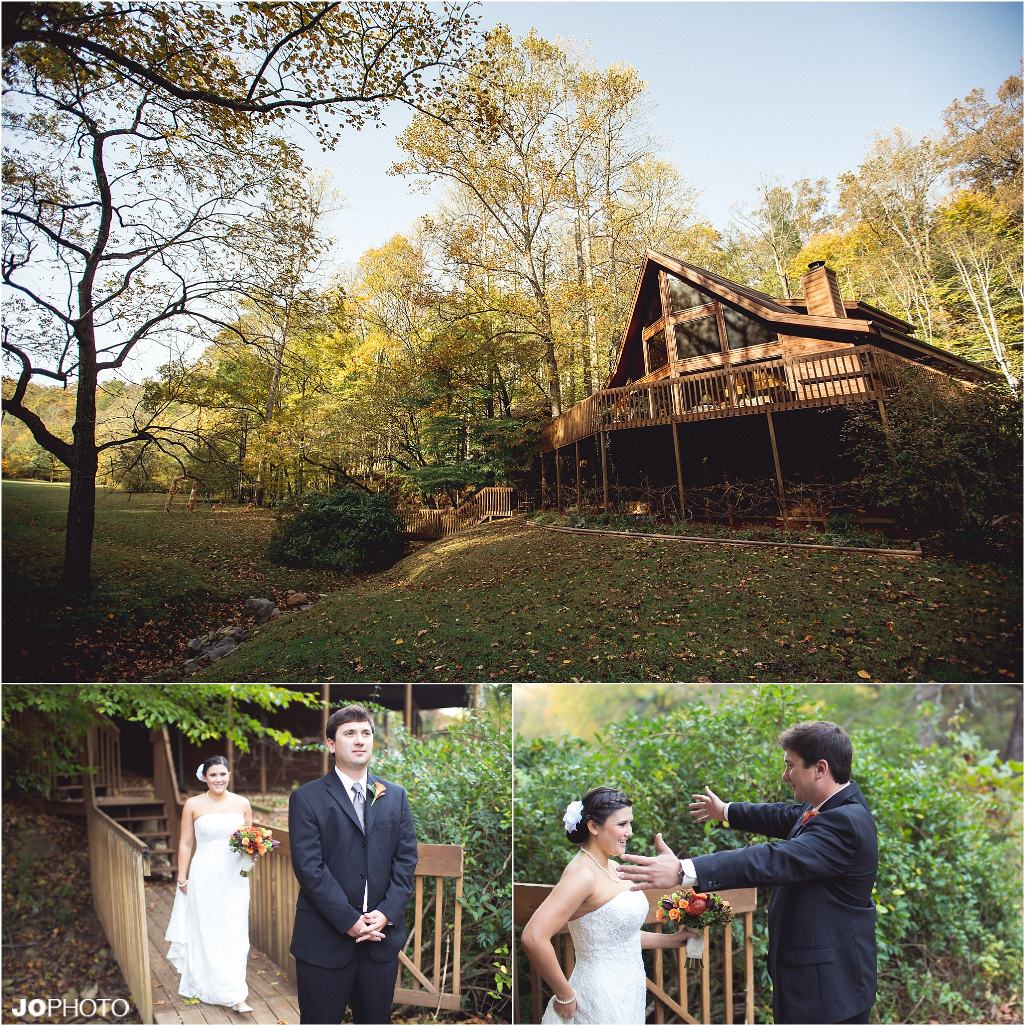 The Lily Barn Townsend Cabin Wedding Smoky Mtn JoPhoto