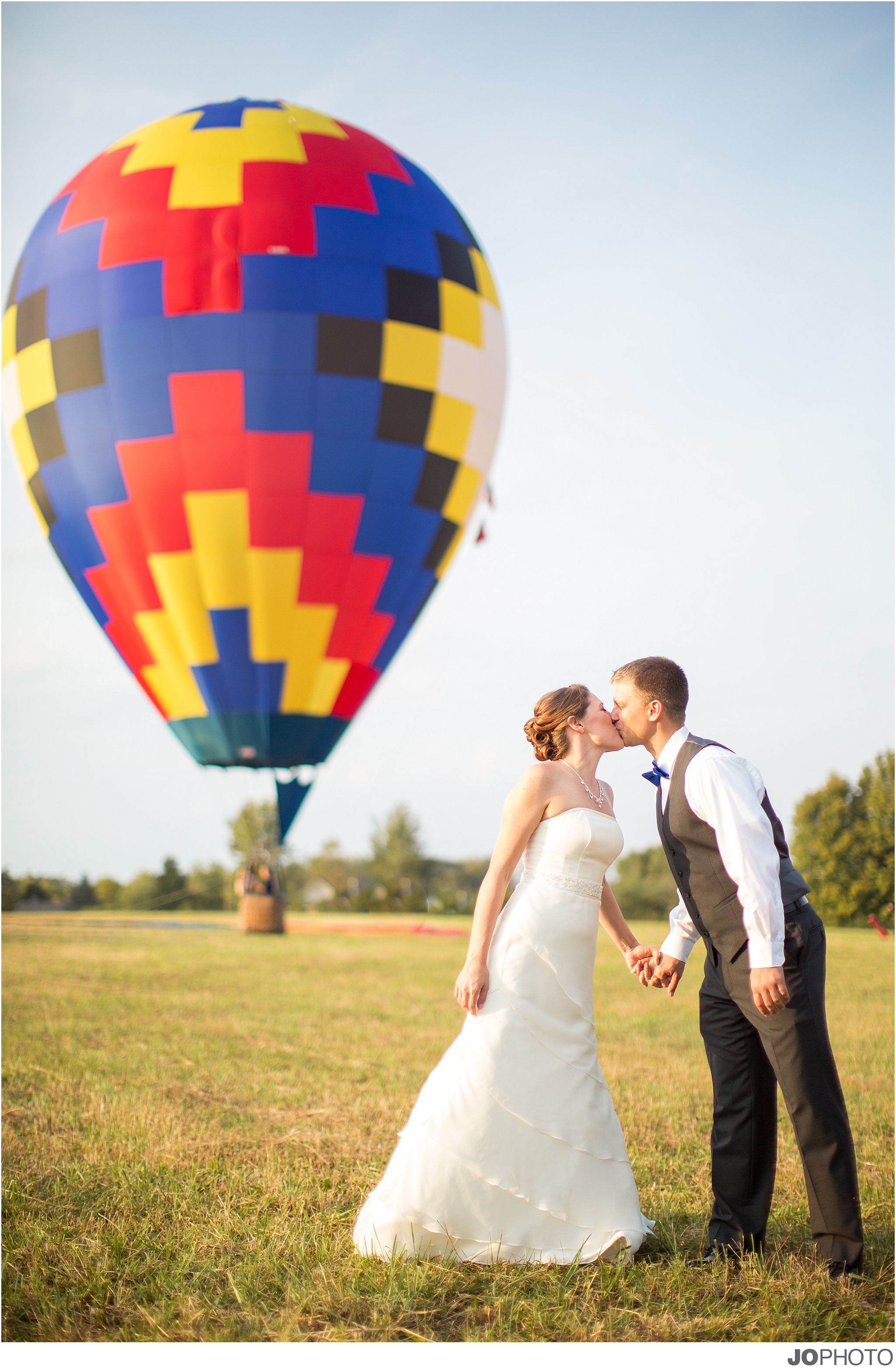 Hot Air Balloon Knoxville Wedding Photographers Jophoto