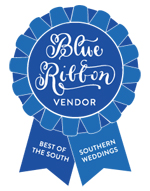 Southern Weddings Blue Ribbon Vendor JoPhoto Knoxville TN