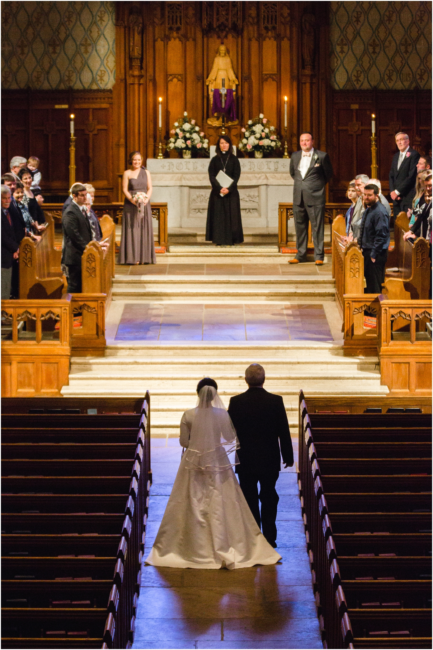 knoxville wedding at church street united methodist church