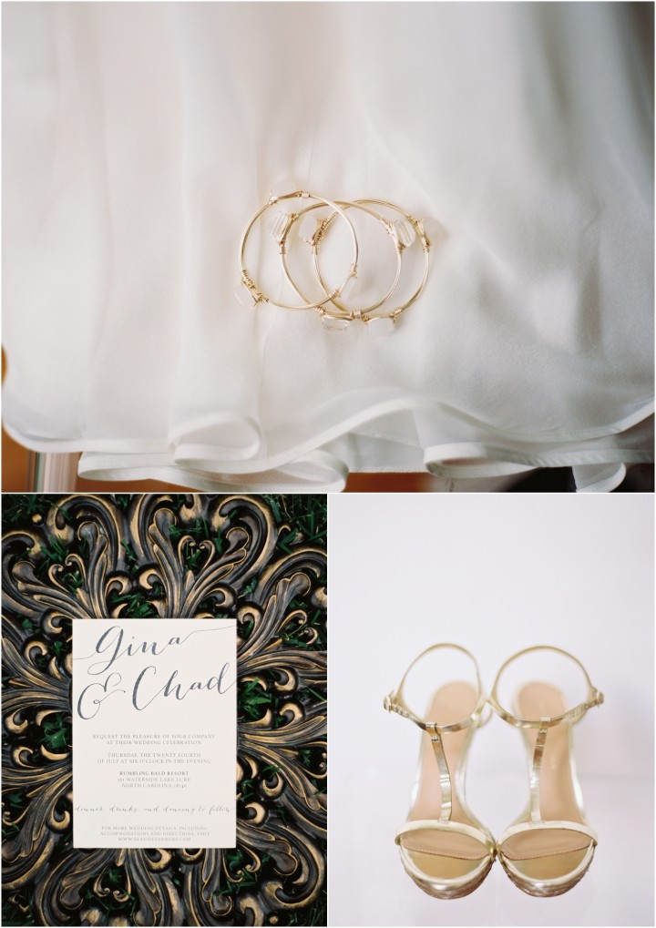 lake lure destination wedding