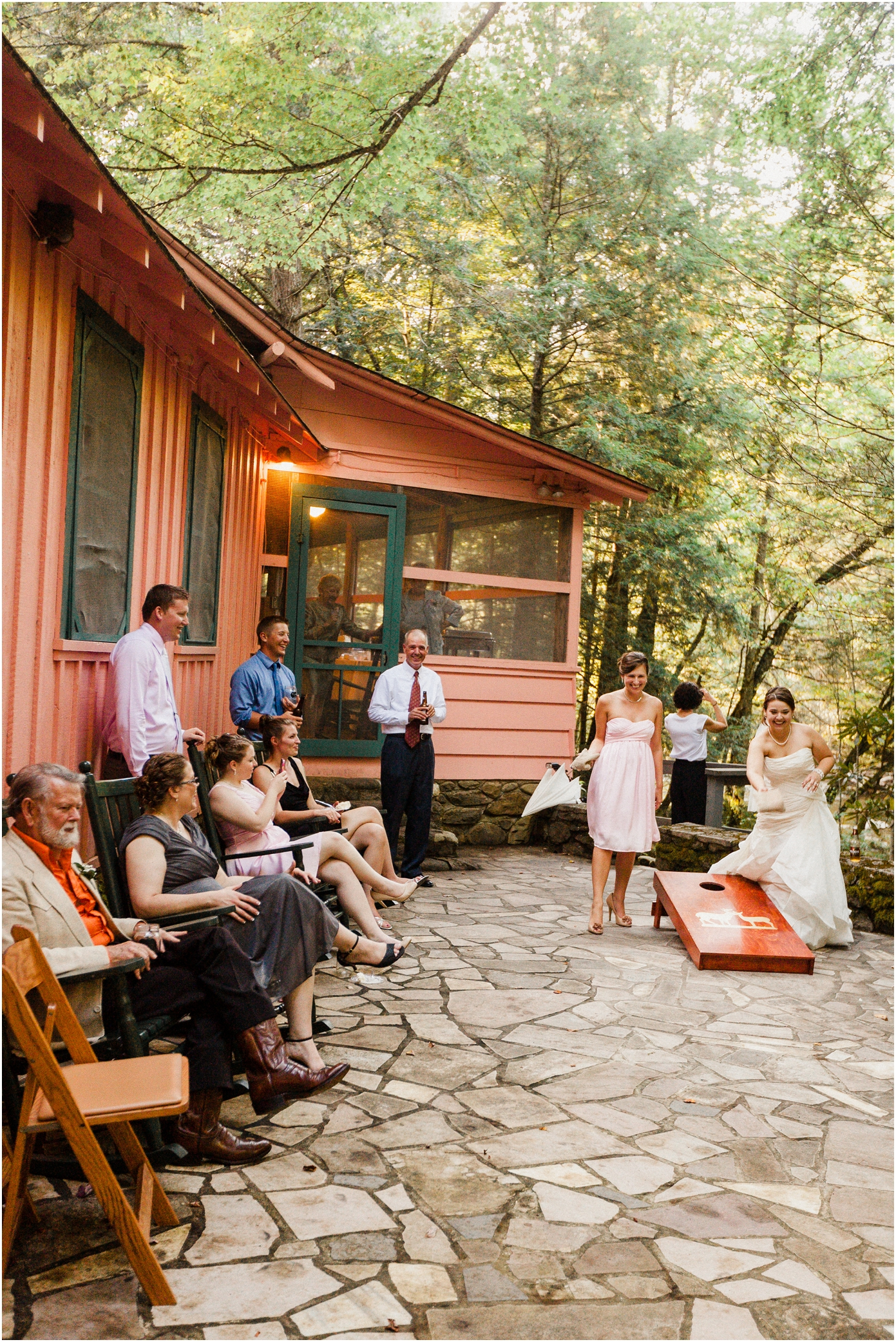 spence cabin wedding in the great smoky mountains
