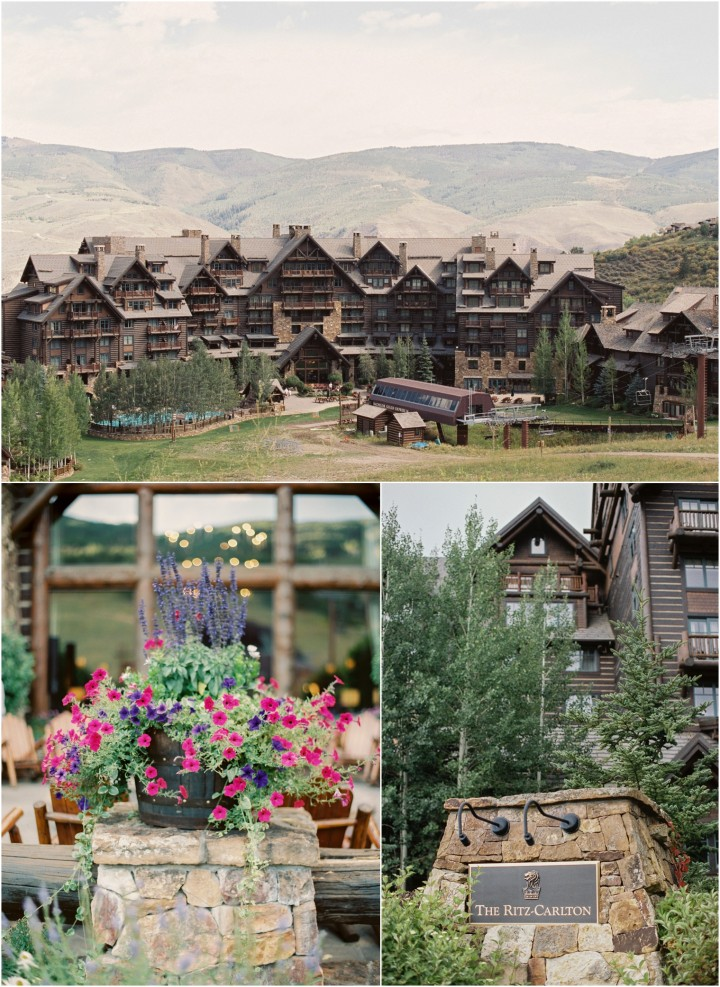 Ritz-Carlton Bachelor Gulch Wedding