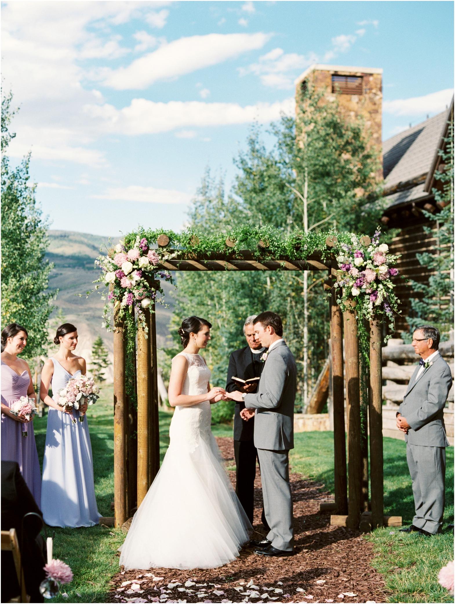 Ritz Carlton Bachelor Gulch Wedding Photographer