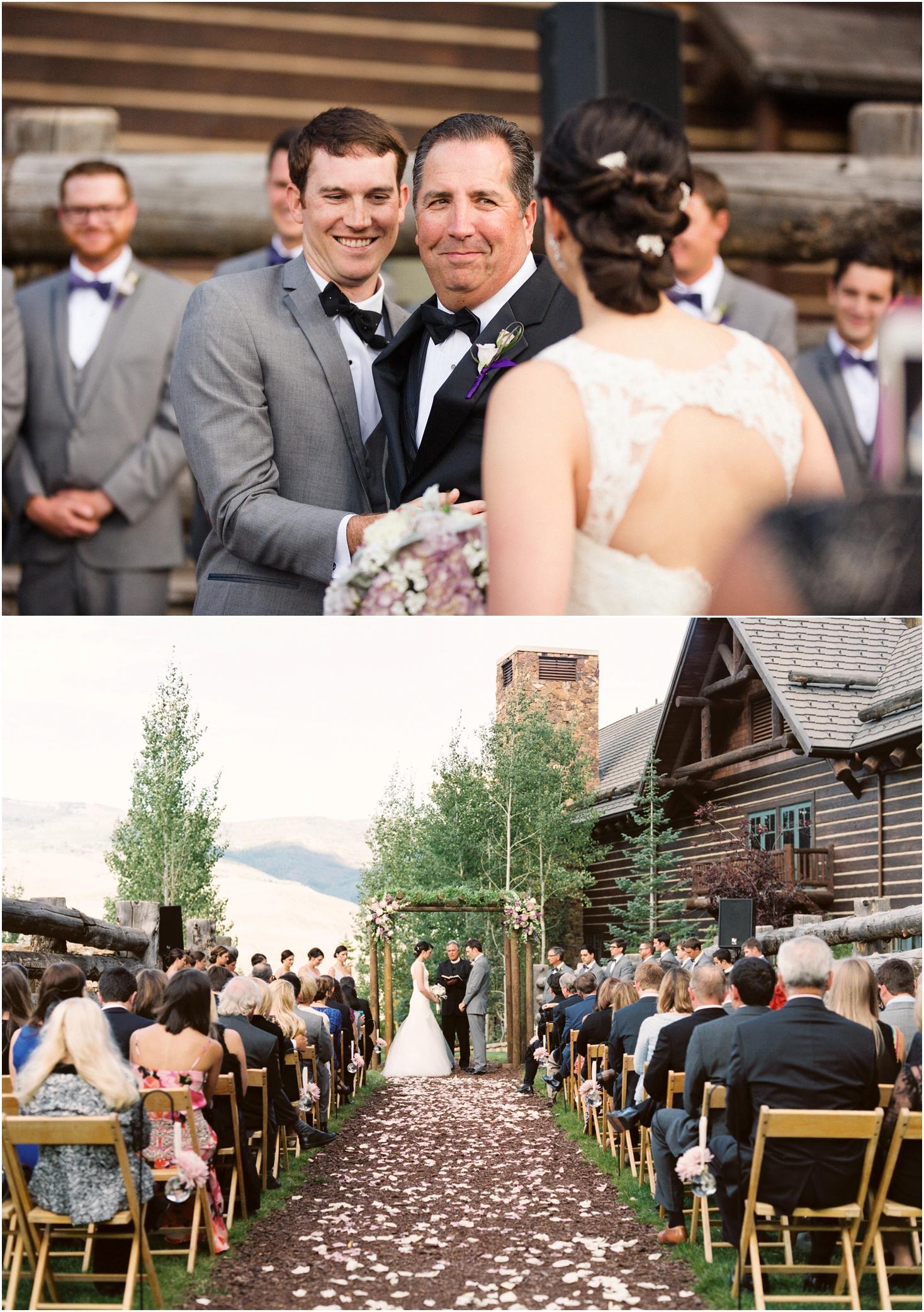Ritz Carlton Bachelor Gulch Wedding