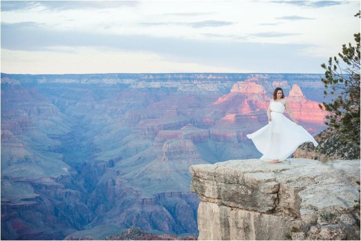 grand canyon wedding photos