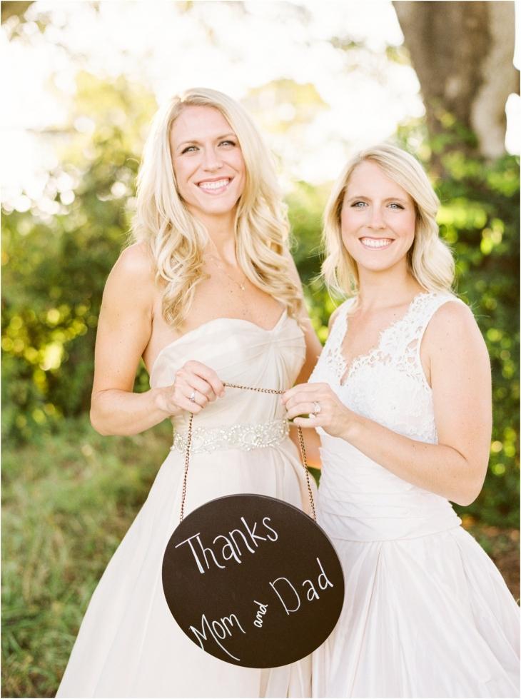 sisters bridal photos