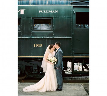 southern railway Knoxville wedding