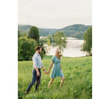 knoxville canoe engagement photos