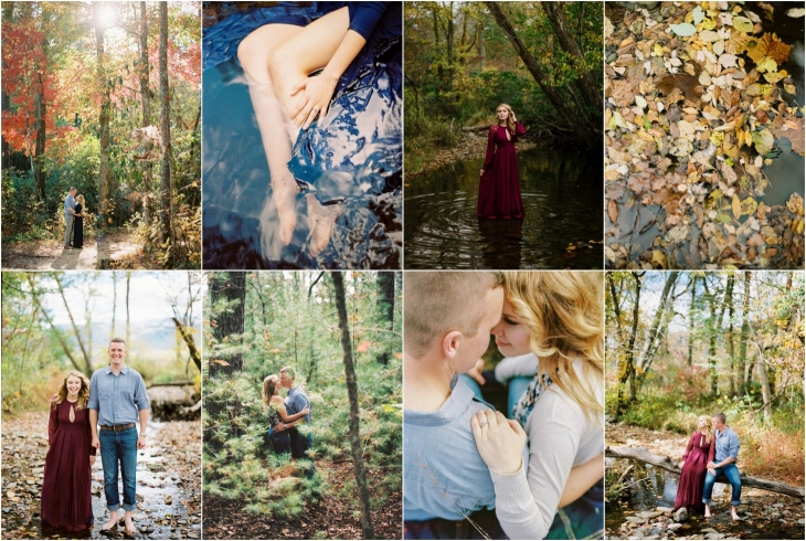 Cades Cove engagement photos