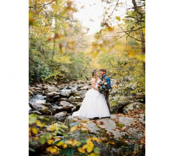 smoky mountain spence cabin wedding