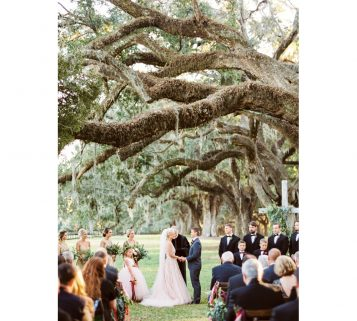 boone hall wedding in Charleston SC
