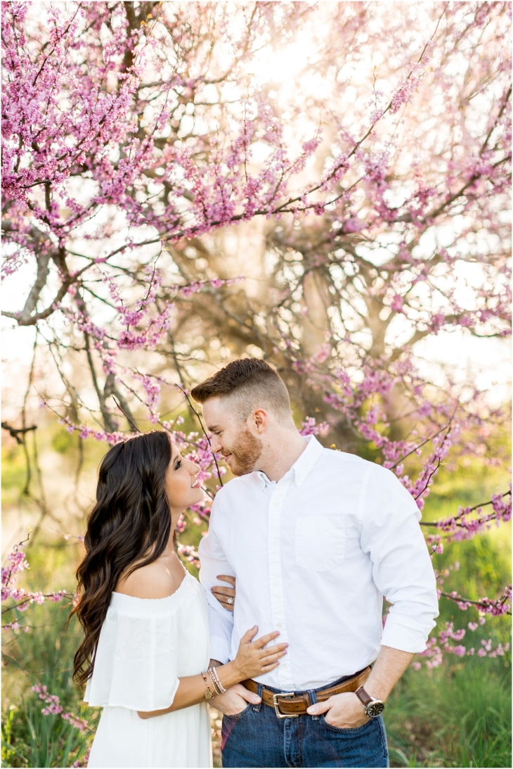 knoxville spring engagement pictures