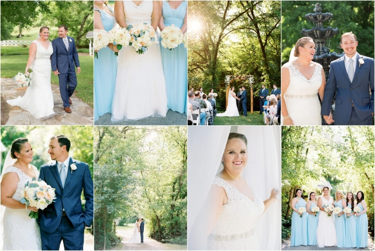 Knoxville wedding at Daras Garden