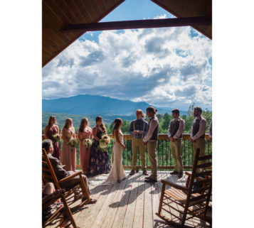 Gatlinburg Mansion Wedding in Tennessee