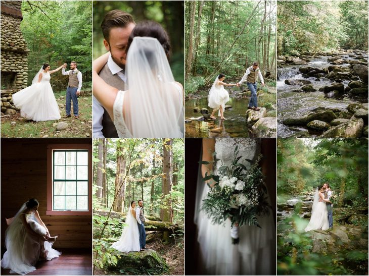 Great Smoky Mountains National Park Elopement in Tennessee