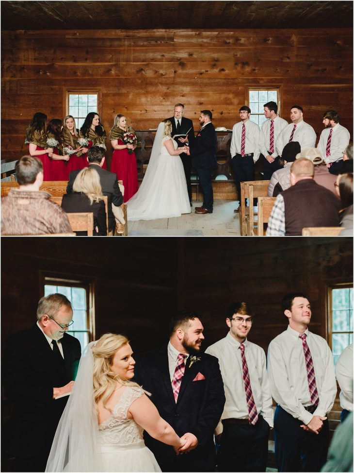 cades cove wedding