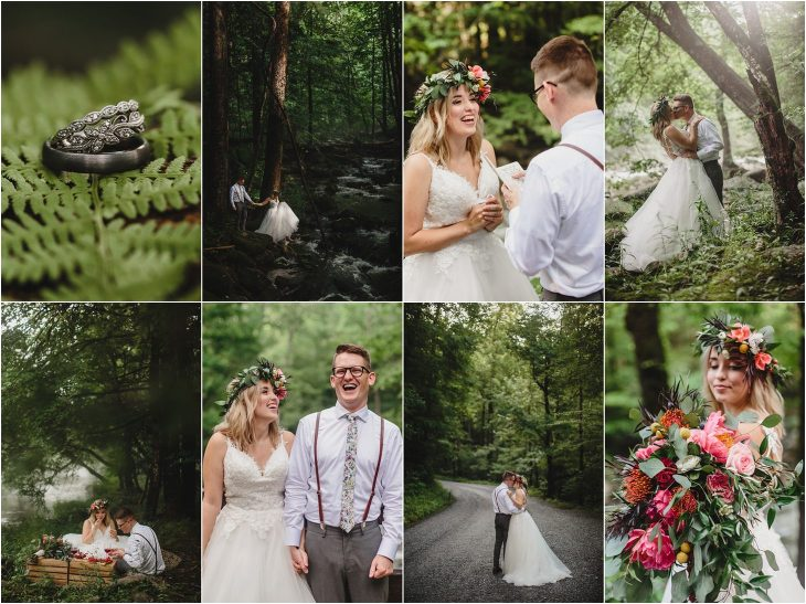 Greenbrier Wedding in the Great Smoky Mountains National Park