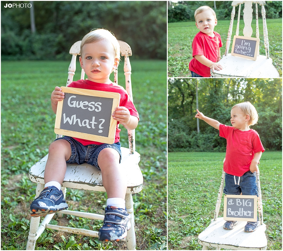 cute brother picture ideas - Announcing Pregnancy To Family Ideas