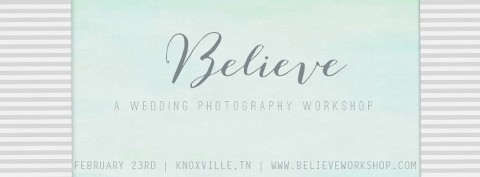 Knoxville Wedding Photographer Workshop