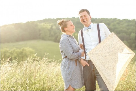 kite engagement picture