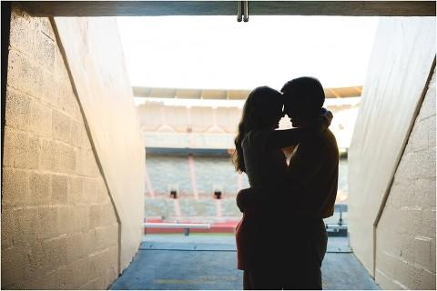 neyland stadium engagement pics