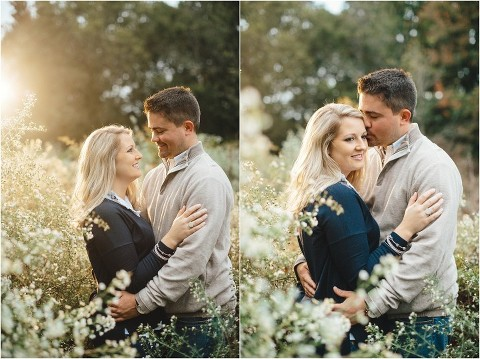 knoxville fall engagement pictures