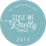 Seen on Style Me Pretty