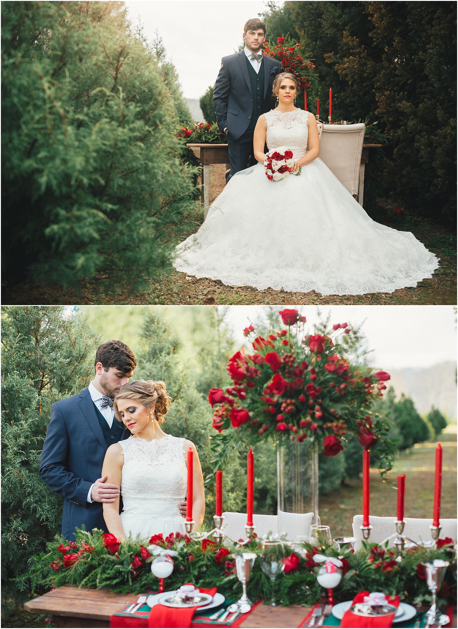 Christmas Tree Farm Weddings.Christmas Tree Farm Wedding Inspiration Knoxville Tn