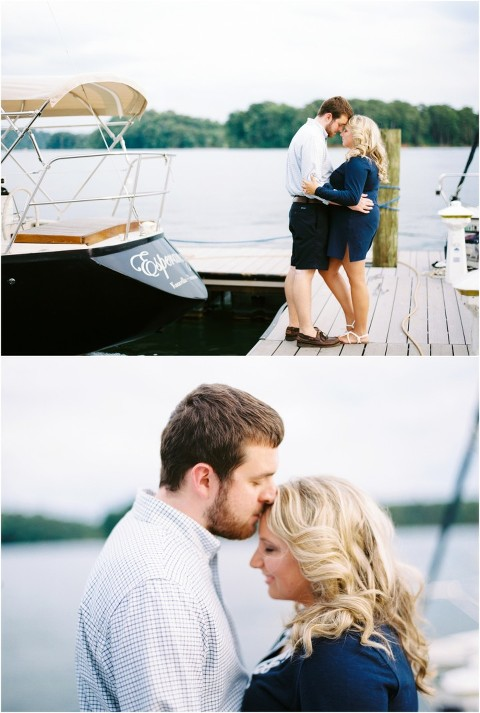 nautical engagement photos