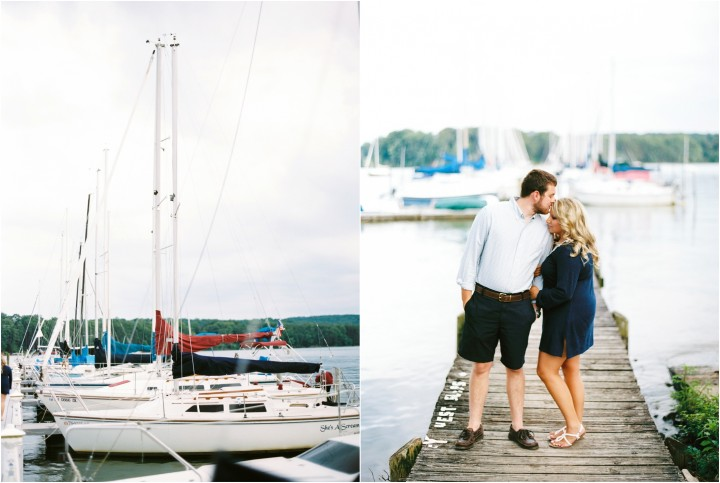 sailboat engagement photos