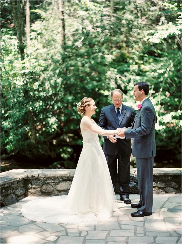smoky mountain national park wedding
