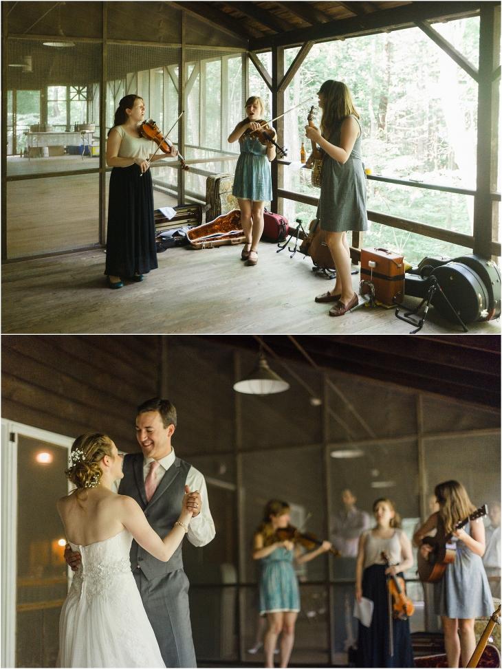 smoky mountain national park wedding reception