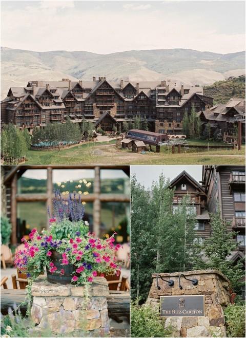 Ritz-Carlton Bachelor Gulch Wedding