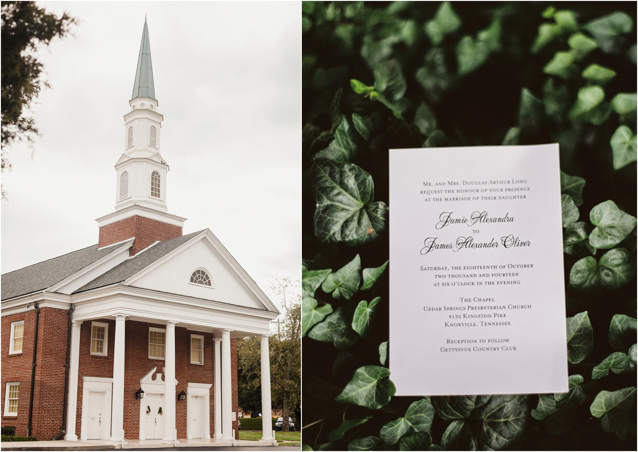 Gettysvue Country Club Wedding In Knoxville