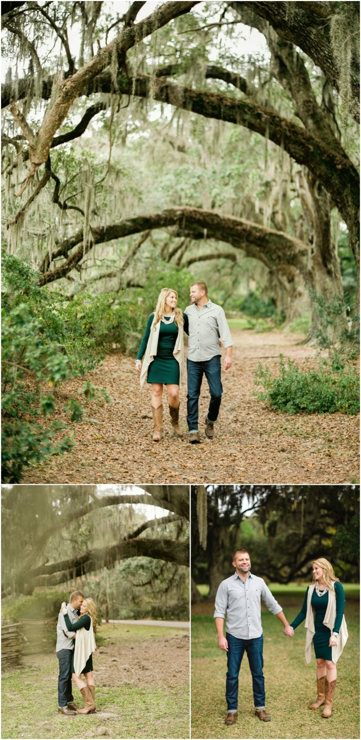 magnolia plantation engagement pic