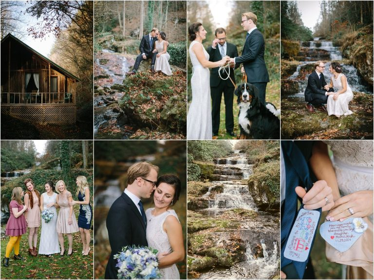 Serenity Falls Wedding in the Great Smoky Mountains