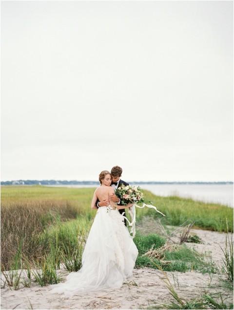 Wedding at Charleston Harbor
