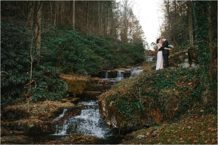 Smoky Mountain wedding photos - Serenity Falls