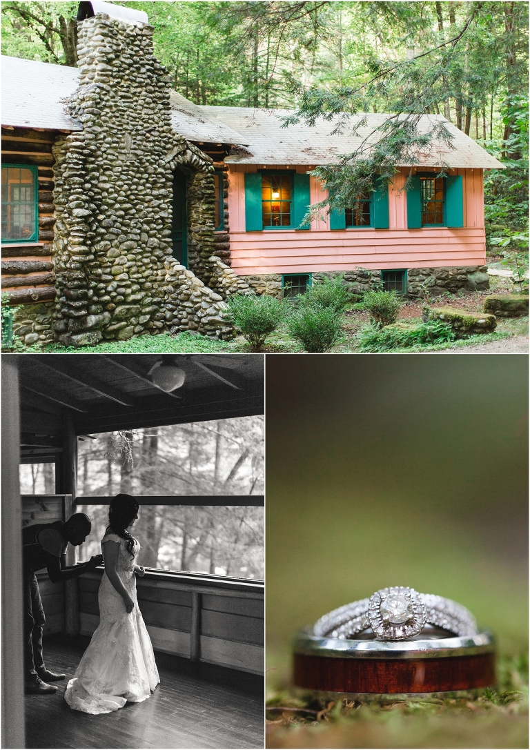 Spence Cabin Wedding