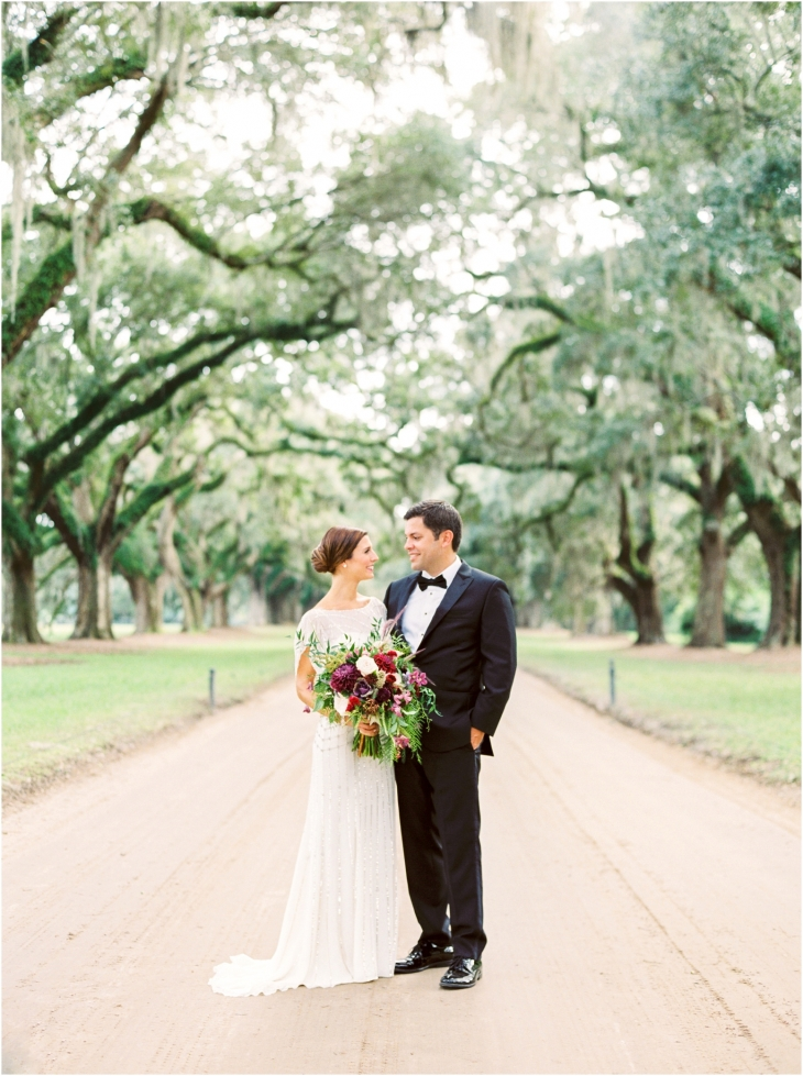 avenue of oaks wedding