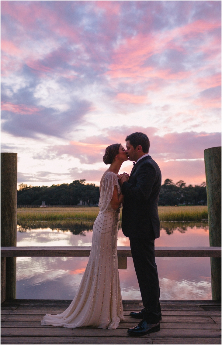 charleston sunset wedding