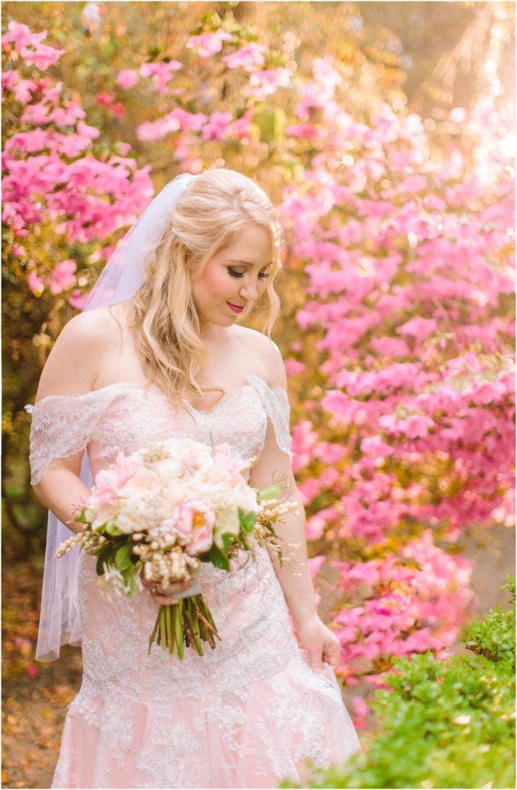 Magnolia Plantation Spring Bride