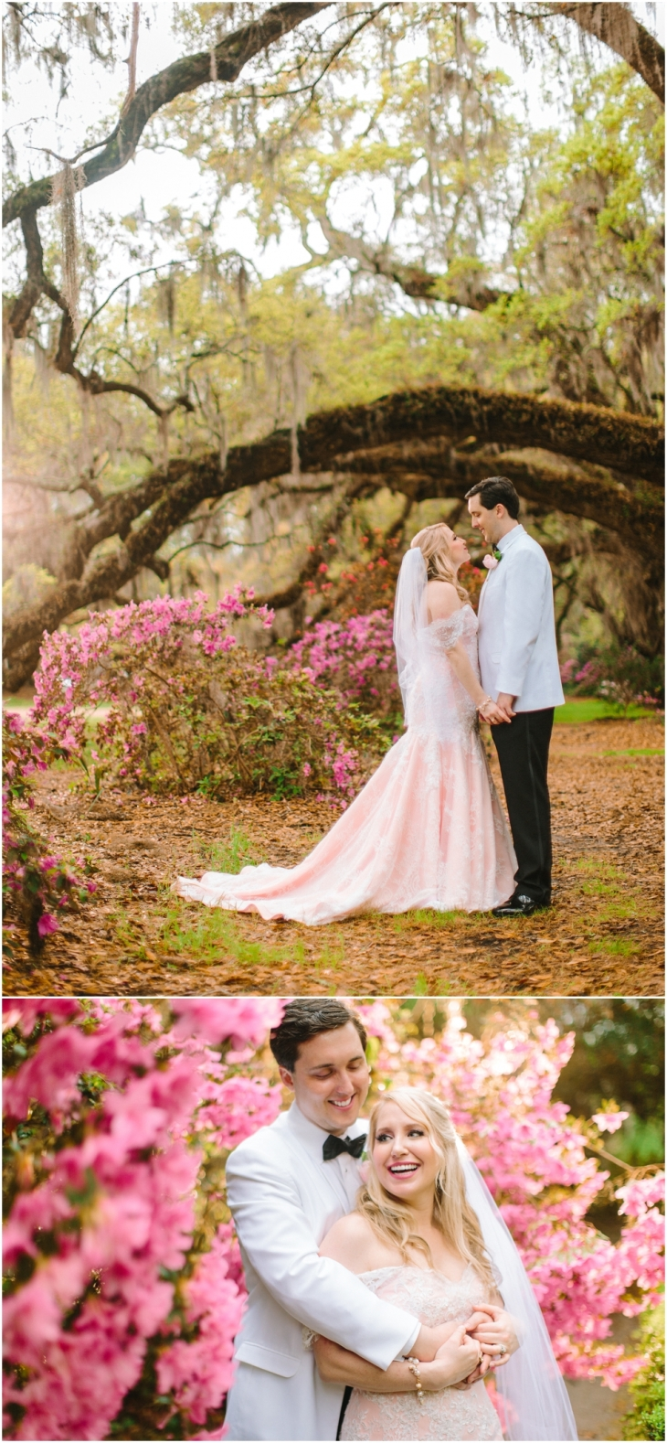 Magnolia Plantation Spring Wedding