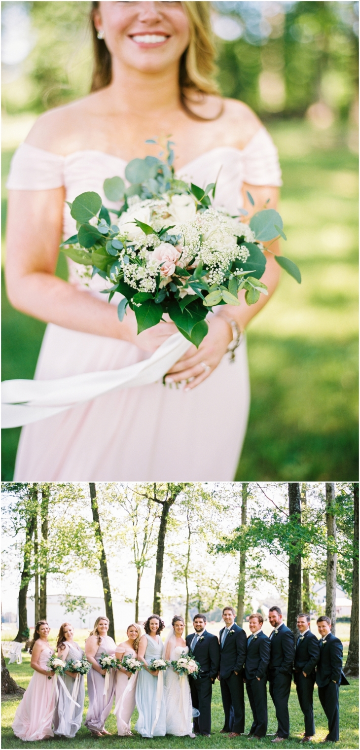 Bridesmaids bouquets knoxville