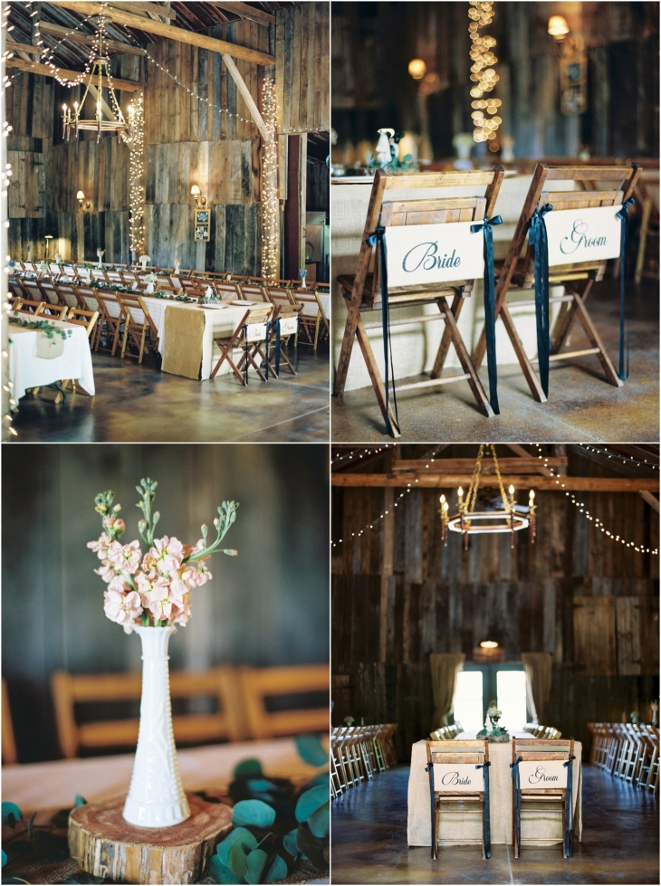 Barn At Chestnut Springs reception pics
